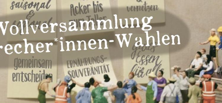 Save the date: Vollversammlung mit Neuwahlen des Sprecher*innenkreises | 1. Juli 2021 | 17:30