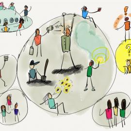 Ein KErn für die Ernährungswende: wir haben unsere Organisationsstrukturen weiterentwickelt