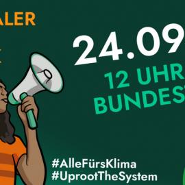 Ernährungswende jetzt – kommt zum  Klimastreik am Freitag! 24.09. | 12:00